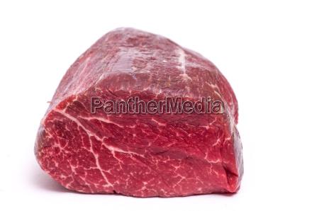 raw hung organic beef