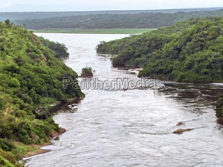 around the murchison falls in uganda