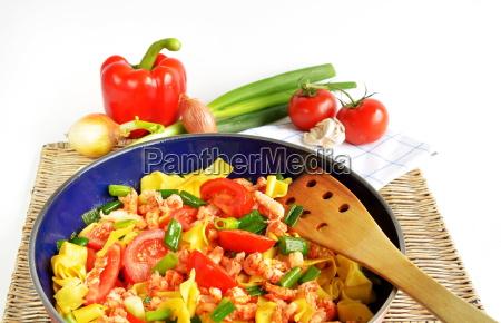 spring pasta pasta dish