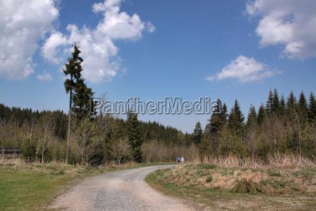 hiking in the erzgebirge
