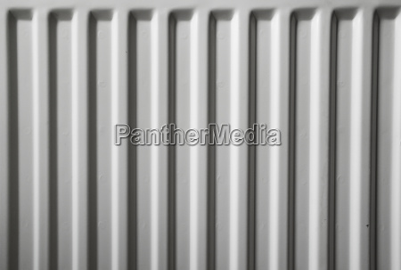 seamless shot of a white radiator