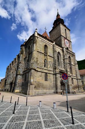 black church in brasov transylvania romania