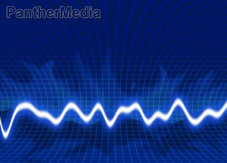 bright energy waves background