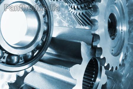 aerospace titanium gear wheels and bearings