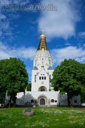 russian memorial church in leipzig