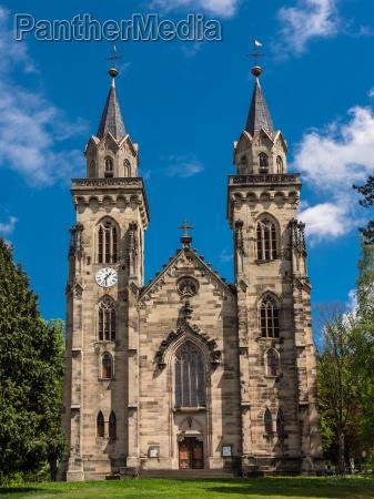 igreja vista thuringia estilo de construcao
