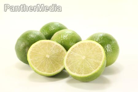 green fruit citrous fruit lime tropical