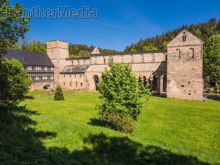 vista thuringia mosteiro estilo de construcao