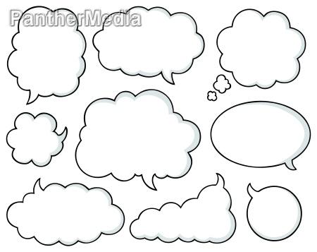 comics bubbles collection 1
