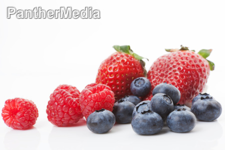 raspberries blueberries and strawberries delicious fruits