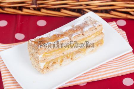 mille foglie cake