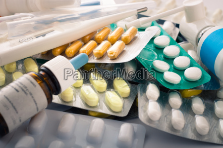 pills tablets and medical supplies