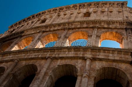ancient roman amphitheater colloseum rome