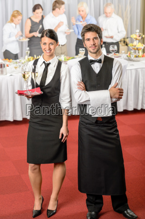 catering service waiter waitress business event