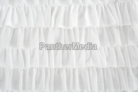 pleated skirt fabric fashion in white