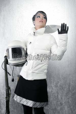 astronaut, spaceship, aircraft, helmet, fashion, woman - 7018681