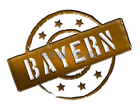 stamp bayern