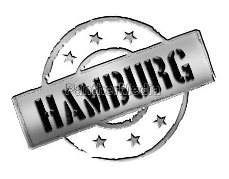 stamp hamburg