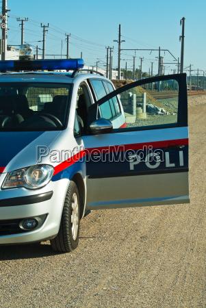 police car executive use