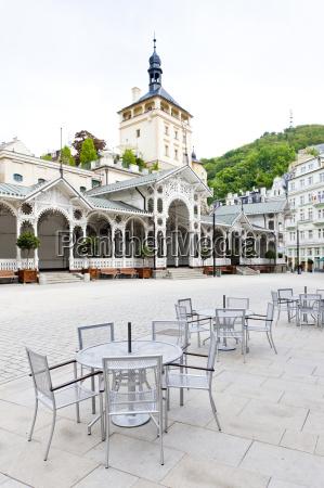 market colonnade karlovy vary carlsbad czech