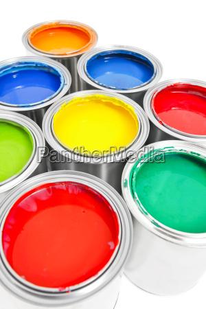 paint bucket isolated 4