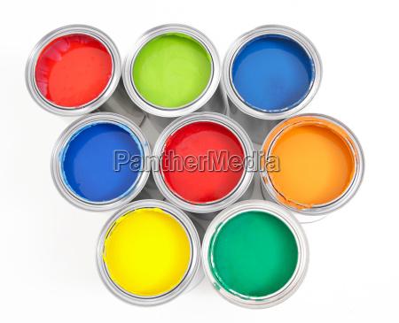 paint bucket isolated 3