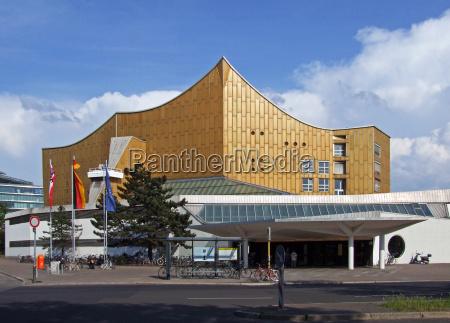 berliner, philharmonie, germany - 7123069