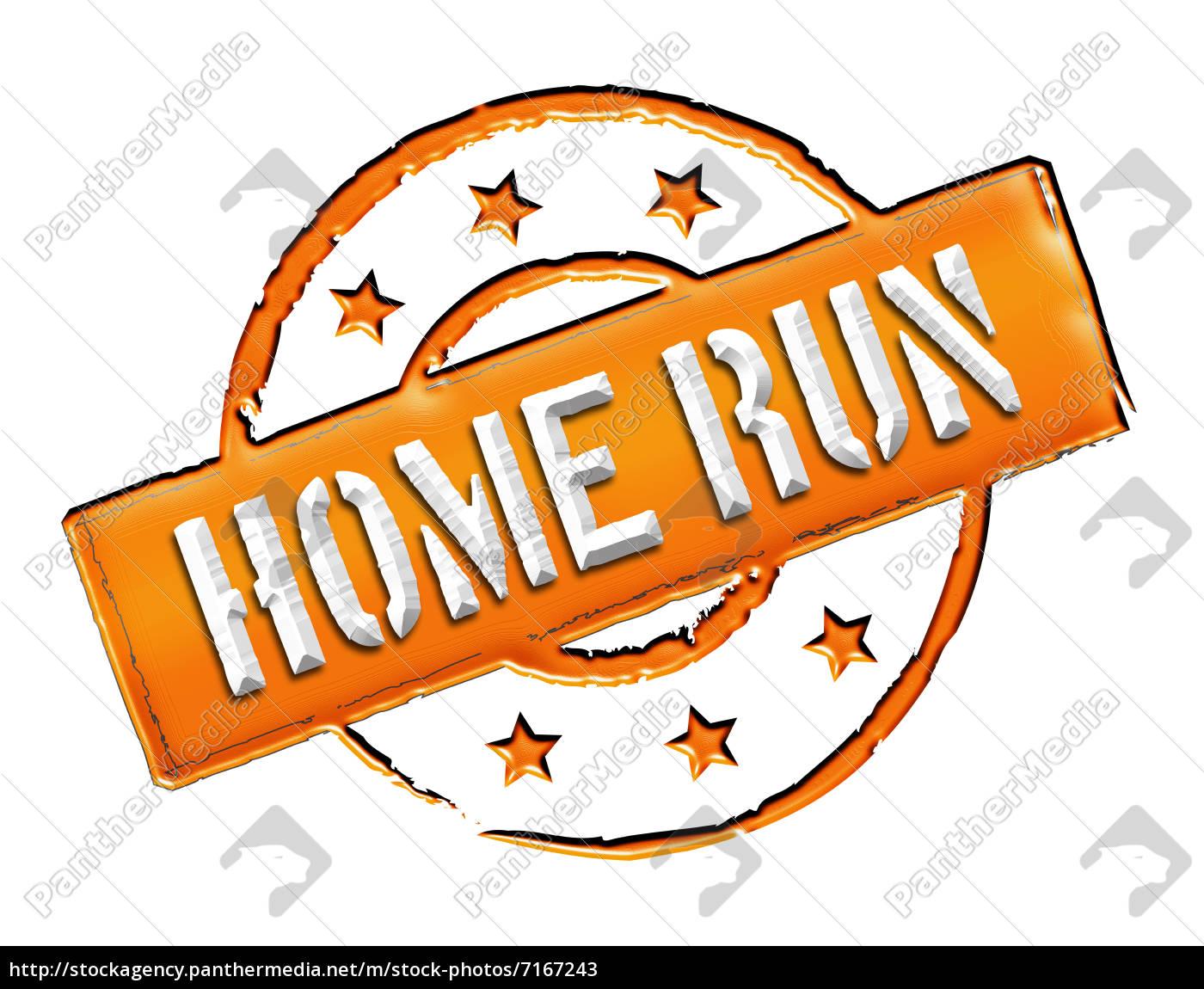 stamp, -, home, run - 7167243