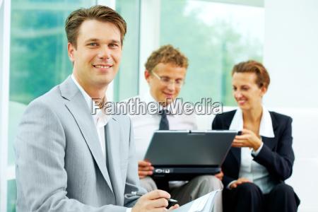 handsome employer