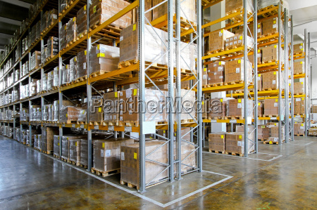 storehouse shelves