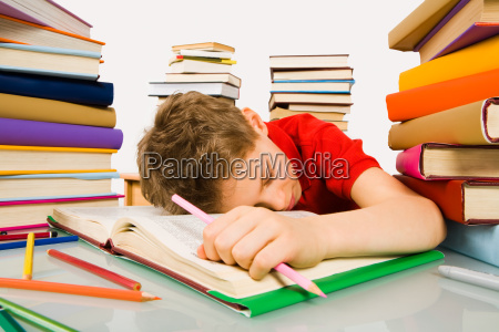 sleep during lesson