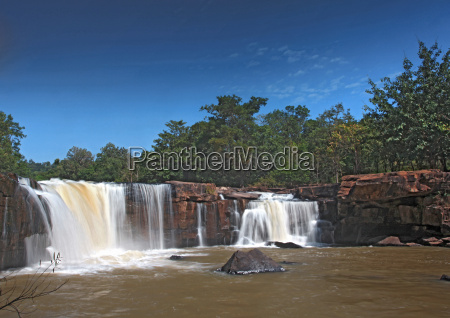 landscape of waterfall tadtone in climate