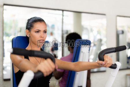 sport people training and working out