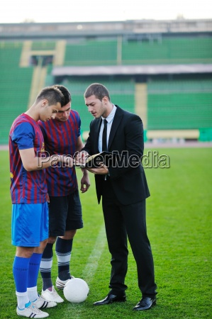 professional sport manager and coach