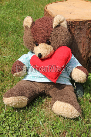 friendship bear cuddly toy love in