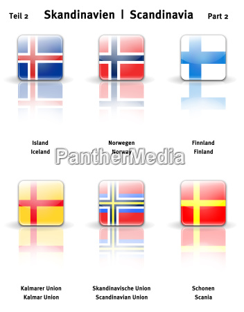 glossy icons scandinavia banners part 2