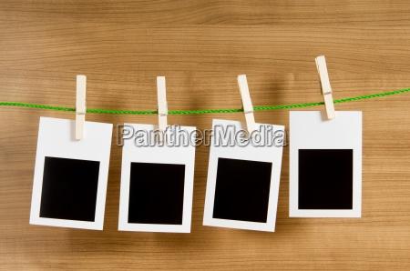 designer concept blank photo frames