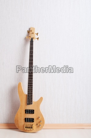 musical, concept, with, wooden, guitar - 7460535