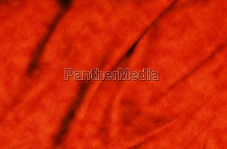 satin fabric folded to be used