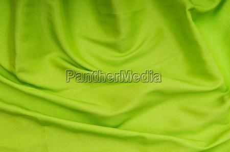 bright satin fabric folded to be