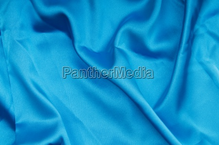 bright satin fabric folded to be