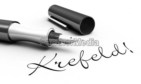 krefeld pen concept