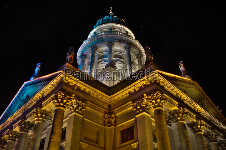 french cathedral at the gendarmenmarkt in