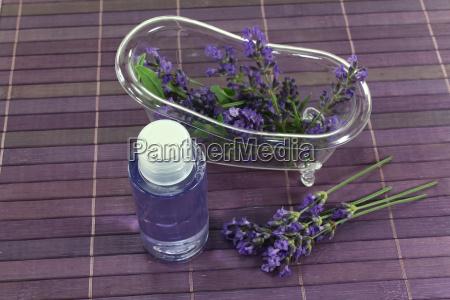 lavender oil with bath