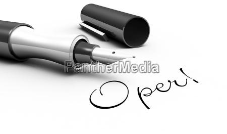 opera pen concept