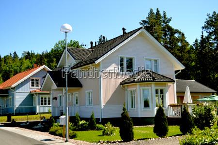 scandinavian private house