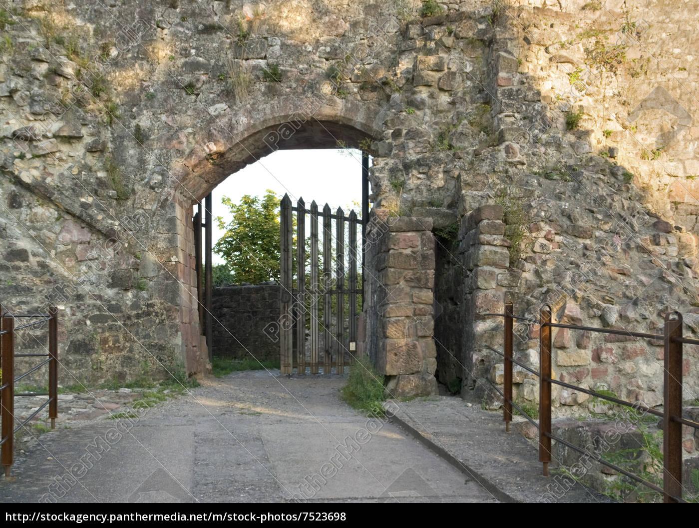 entrance, of, the, stronghold, emmendingen - 7523698