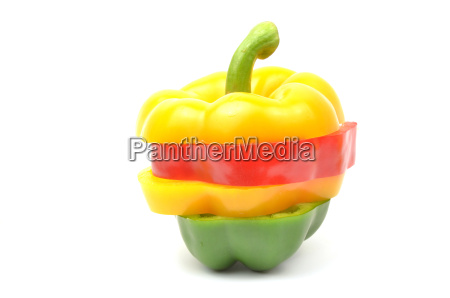 fresh colorful paprika
