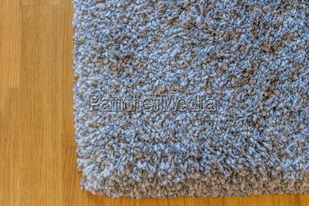 gray carpet on floor