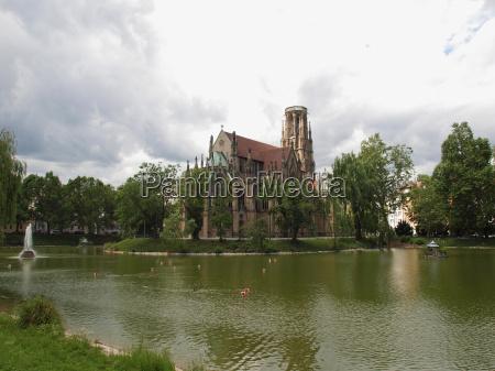 johanneskirche church stuttgart